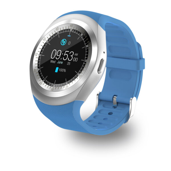 696 Y1 Smart Watchs Round Support Nano SIM TF Card With Whatsapp And Facebook Men Women 4