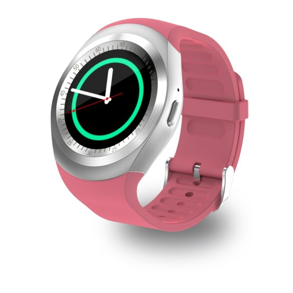 696 Y1 Smart Watchs Round Support Nano SIM TF Card With Whatsapp And Facebook Men Women 5