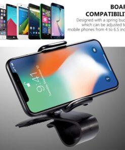 Dashboard Clip Mount Car Phone Holder, Dashboard Clip Mount Car Phone Holder
