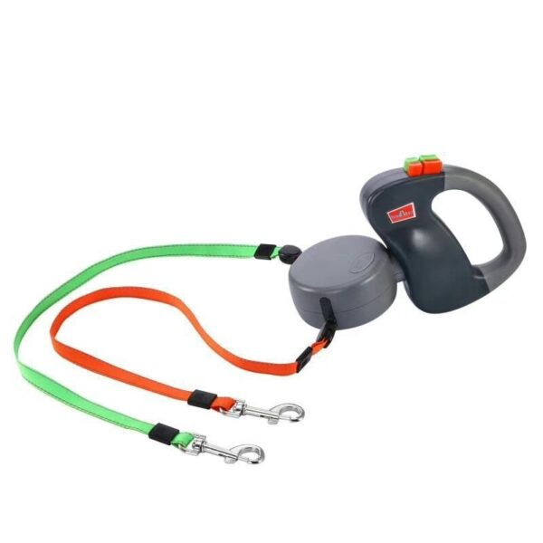 ABS Automatic Retractable Traction Rope With Two headed Ccreative Dog Leash Dog Chain Pet Supplies dog 3