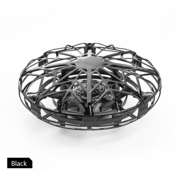 Anti collision UFO Mini Drone Hand Flying Globe Quadcopter Hand Controlled Helicopter LED Induction Flying