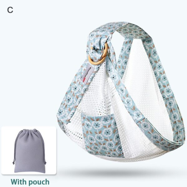 Baby Wrap Carrier Newborn Sling Dual Use Infant Nursing Cover Carrier Mesh Fabric Breastfeeding Carriers Up 2.jpg 640x640 2