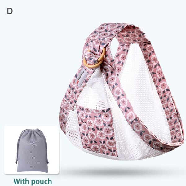 Baby Wrap Carrier Newborn Sling Dual Use Infant Nursing Cover Carrier Mesh Fabric Breastfeeding Carriers Up 3.jpg 640x640 3
