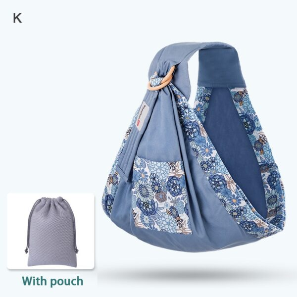 Baby Wrap Carrier Newborn Sling Dual Use Infant Nursing Cover Carrier Mesh Fabric Breastfeeding Carriers Up 4