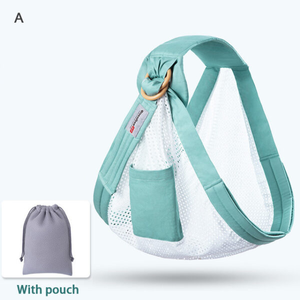 Baby Wrap Carrier Newborn Sling Dual Use Infant Nursing Cover Carrier Mesh Fabric Breastfeeding Carriers