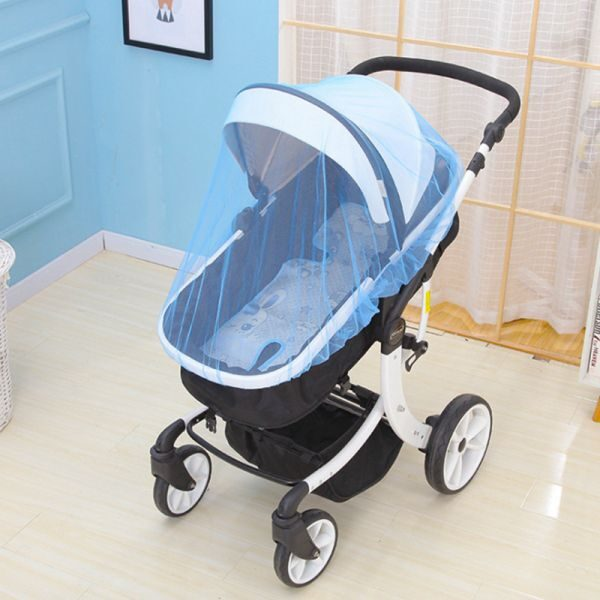 Breathable Mosquito Net For Outdoor Increase Large Encryption Stroller Net Full Cover Type Universal Pushchair Buggy 2.jpg 640x640 2
