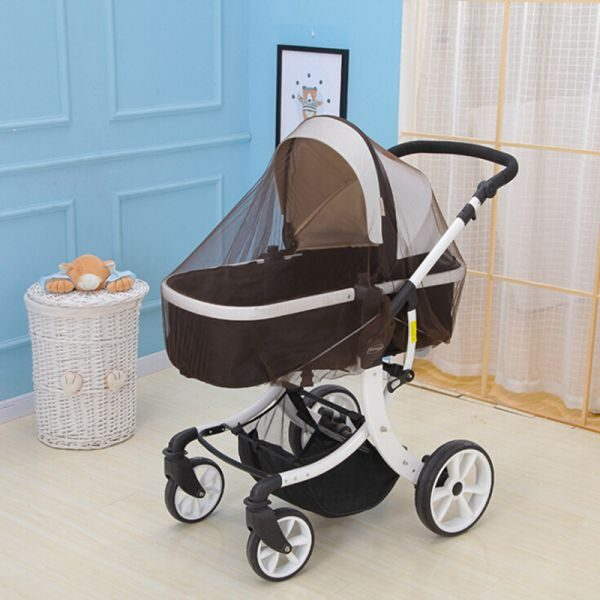 Breathable Mosquito Net For Outdoor Increase Large Encryption Stroller Net Full Cover Type Universal Pushchair Buggy 3.jpg 640x640 3