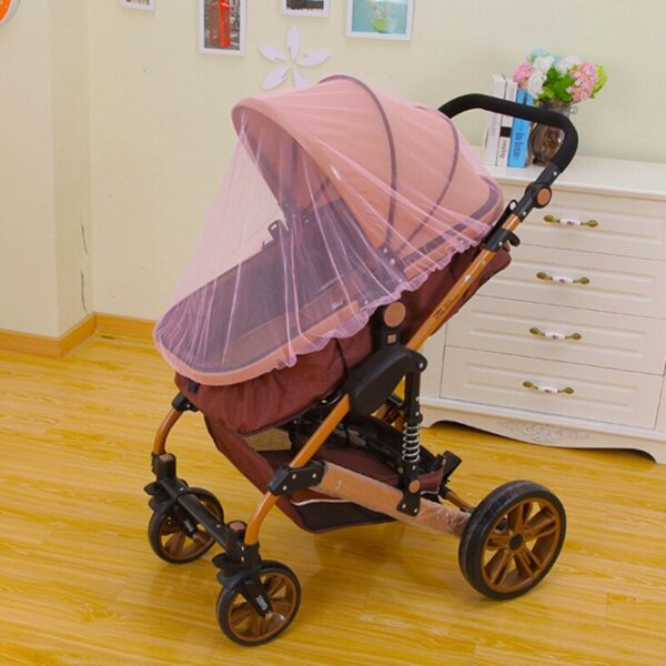 Breathable Mosquito Net For Outdoor Increase Large Encryption Stroller Net Full Cover Type Universal Pushchair Buggy 4