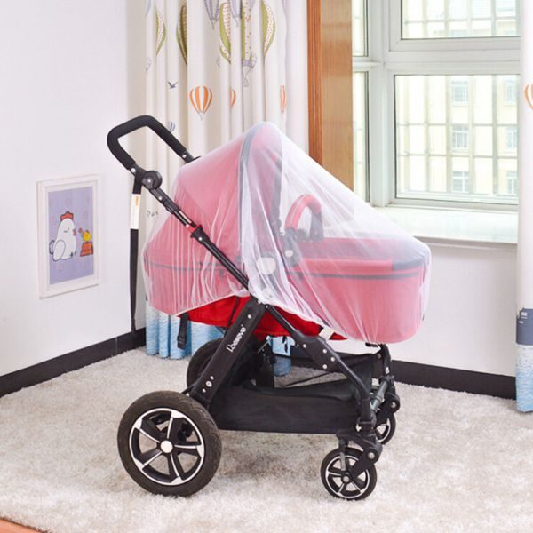 Breathable Mosquito Net For Outdoor Increase Large Encryption Stroller Net Full Cover Type Universal Pushchair