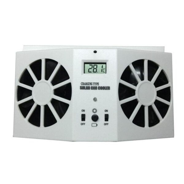 Car Solar Powered Exhaust Fan Car Gills Cooler Auto Ventilation Fan Dual mode Power Supply High 1.jpg 640x640 1