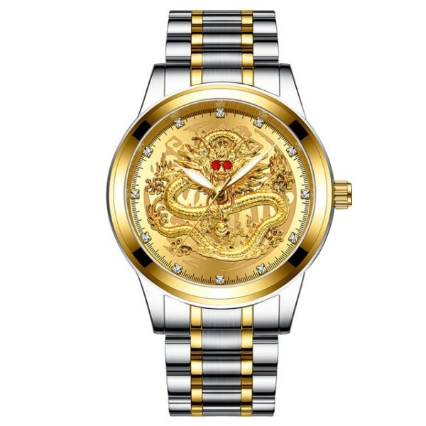Fashion Men Watch Golden Mens Watches Top Brand Luxury Waterproof Full Steel Quartz Dragon Clock Male 4.jpg 640x640 4