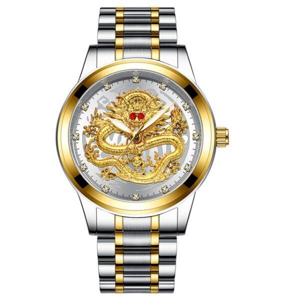 Fashion Men Watch Golden Mens Watches Top Brand Luxury Waterproof Full Steel Quartz Dragon Clock Male 5.jpg 640x640 5