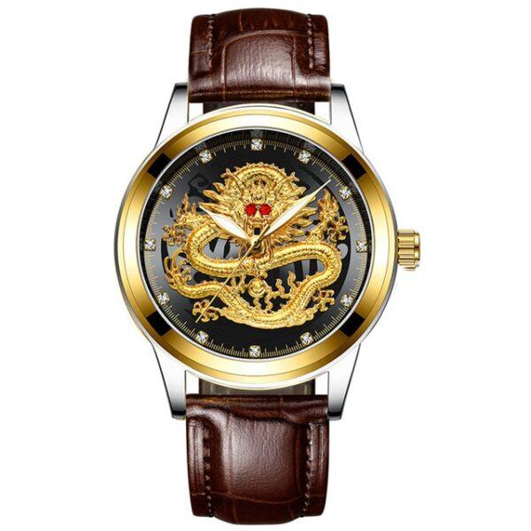 Fashion Men Watch Golden Mens Watches Top Brand Luxury Waterproof Full Steel Quartz Dragon Clock Male 6.jpg 640x640 6
