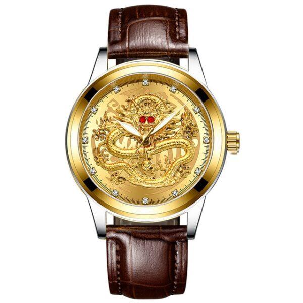 Fashion Men Watch Golden Mens Watches Top Brand Luxury Waterproof Full Steel Quartz Dragon Clock Male 7.jpg 640x640 7