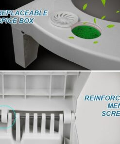 Folding Multi-Function Toilet Stool, Folding Multi-Function Toilet Stool