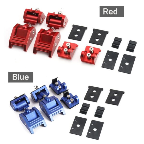 Metal Engine Hood Latch Lock Catches Kits for Jeep Wrangler JK Unlimited Rubicon 2008 2009 2010 4