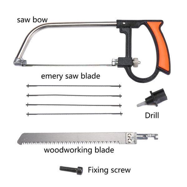 Multifunctional Handsaw Woodworking Universal Hand Saw Mini Hacksaw DIY For Wood Plastic Sawing Glass Ceramic Tile 1