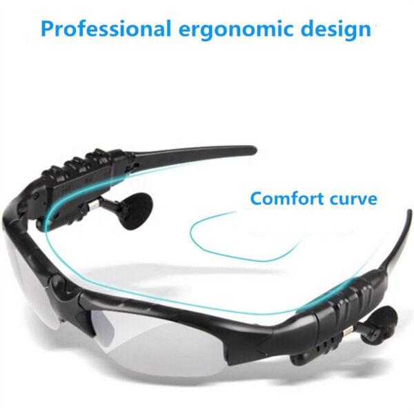 NO BORDERS Cycling Sunglasses Riding Bluetooth Earphone Smart Glasses Outdoor Sport Wireless Bike Sun Glasses Headphone 1 1