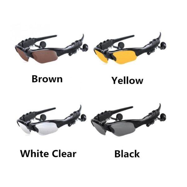 NO BORDERS Cycling Sunglasses Riding Bluetooth Earphone Smart Glasses Outdoor Sport Wireless Bike Sun Glasses Headphone 2