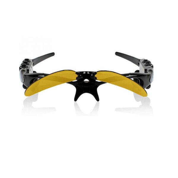 NO BORDERS Cycling Sunglasses Riding Bluetooth Earphone Smart Glasses Outdoor Sport Wireless Bike Sun Glasses Headphone 3