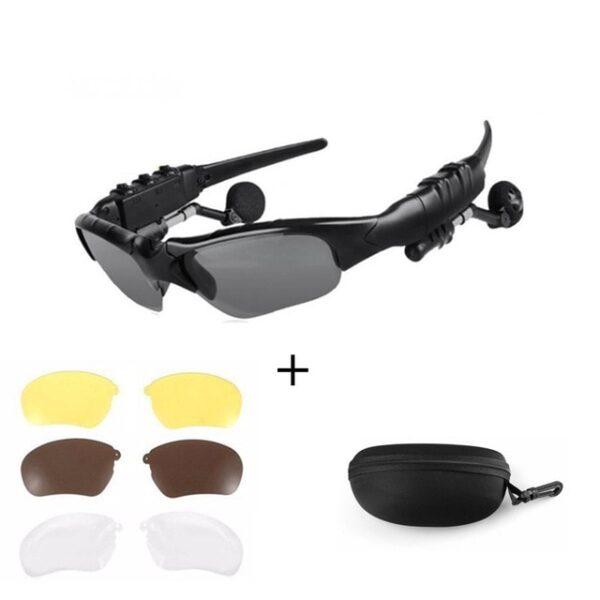 NO BORDERS Cycling Sunglasses Riding Bluetooth Earphone Smart Glasses Outdoor Sport Wireless Bike Sun Glasses Headphone 4.jpg 640x640 4