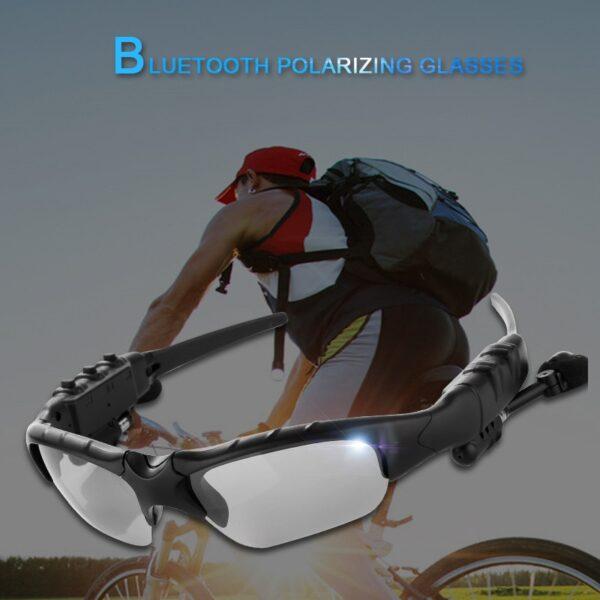 NO BORDERS Cycling Sunglasses Riding Bluetooth Earphone Smart Glasses Outdoor Sport Wireless Bike Sun Glasses Headphone 5