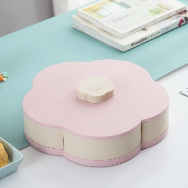 Newest Plastic Storage Box for Seeds Nuts Candy Dry Fruits Case Plum Type Lunch Container for 4.jpg 640x640 4