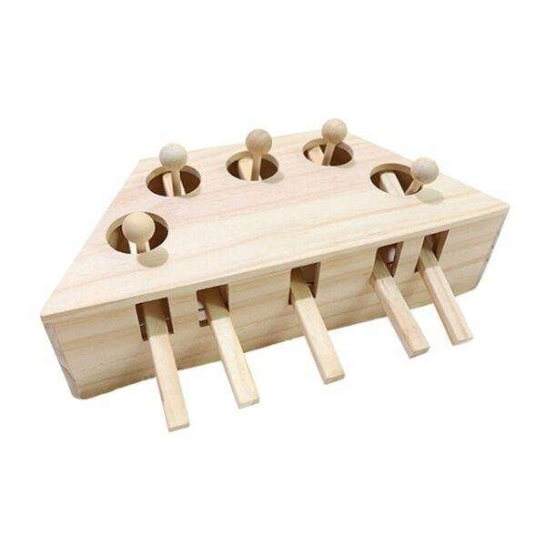 Pet Indoor Solid Wooden Exercise Toy Cat Interactive 5 holed Mouse Seat Scratch Bite Toys 1.jpg 640x640 1