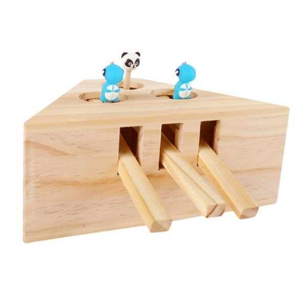 Pet Indoor Solid Wooden Exercise Toy Cat Interactive 5 holed Mouse Seat Scratch Bite Toys 2.jpg 640x640 2