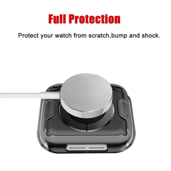 ProBefit 360 Slim Watch Cover for Apple Watch 4 3 2 1 42MM 38MM Case Soft 4