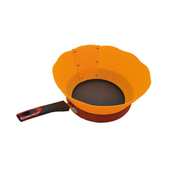 Specialty Tools Oil Barrier Cooking Silicone Pot Circle Anti Splashing Oil Baffle Kitchen Tool 3