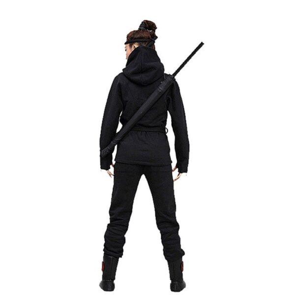 Stylish Black Japanese Samurai Ninja Sword Katana Umbrella Sunny Rainny Long handle Umbrellas Semi automatic 8 8
