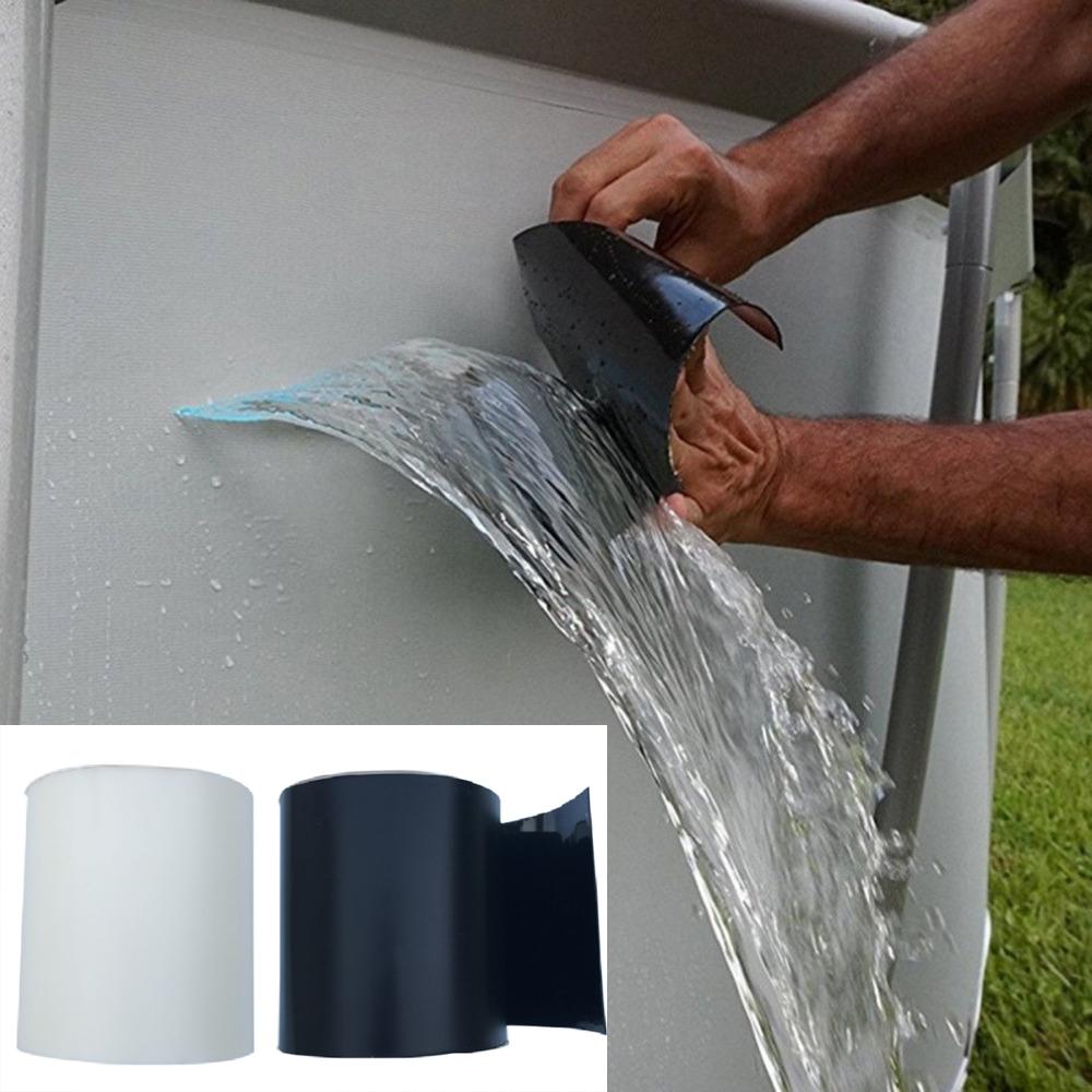 Waterproof Fiber Water Storage Leaking Resistant Seal Repair Tape Application
