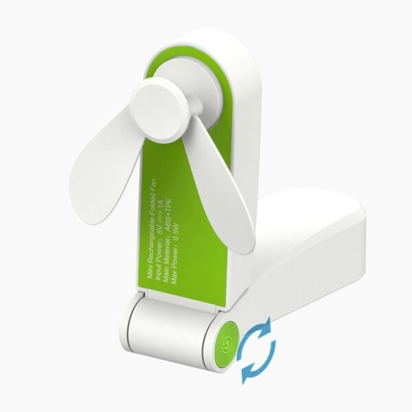 Usb Pocket Fold Fans Electric Portable Hold Small Fans Originality Small Household Electrical Appliances Desktop