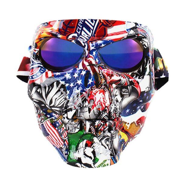 Vintage Skull Motorcycle Glasses Detachable Modular Mask Motorcycle Goggles Mouth Filter Motocross Glasses Moto Helmet Glasses 1.jpg 640x640 1