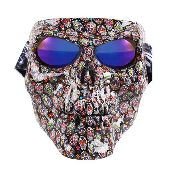 Vintage Skull Motorcycle Glasses Detachable Modular Mask Motorcycle Goggles Mouth Filter Motocross Glasses Moto Helmet Glasses 5.jpg 640x640 5