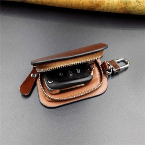 With Car Brand Genuine leather car key case wallet fashion cow leather brand car key holder 8 472x400 1