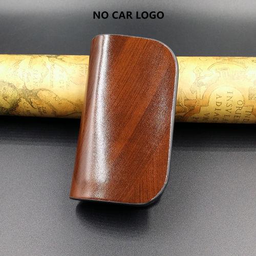 With Car Brand Genuine leather car key case wallet fashion cow leather brand car key