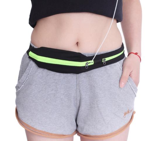Dual Pocket Running Belt, Dual Pocket Running Belt