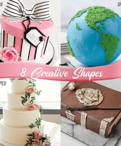 Style Cake Scrapers, 8-Style Cake Scrapers
