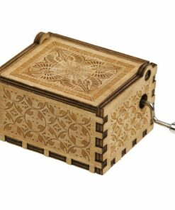 Mom To Daughter Wooden Classical Music Box, Mom To Daughter Wooden Classical Music Box