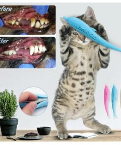 Soft Silicone Mint Fish Cat Toy Catnip Pet, Soft Silicone Mint Fish Cat Toy Catnip Pet