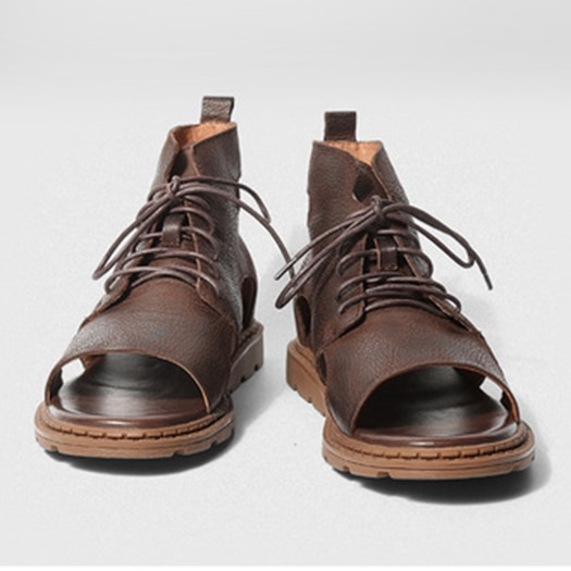 2018 Flat Sandals Breathable Boots Genuine Leather Designer Shoes Men High Quality Luxury Open Toe Brown 1.jpg 640x640 1