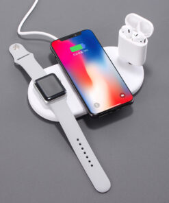 Qi Wireless Charger Plate, 3 in 1 Qi Wireless Charger Plate
