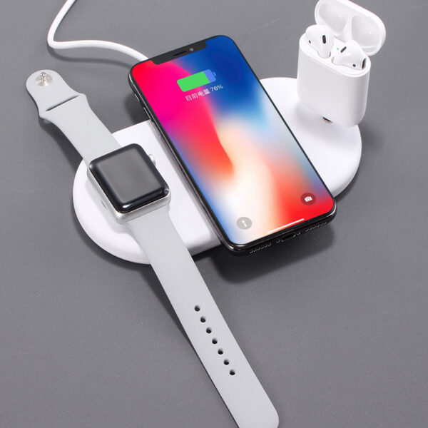 3 in 1 Qi Wireless Charger Plate