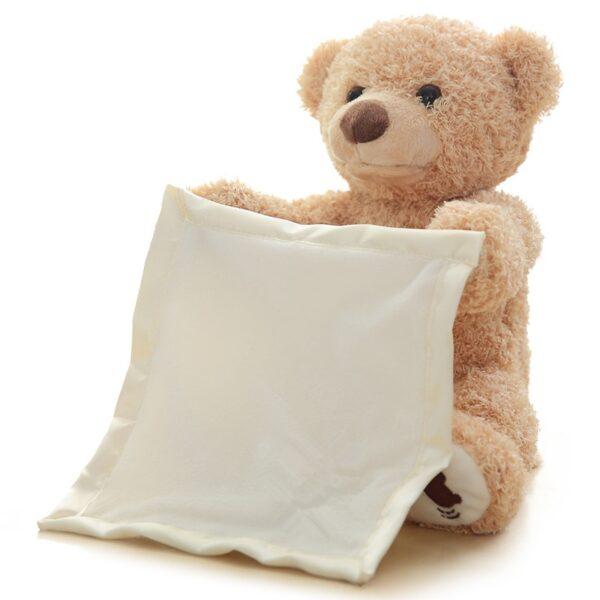 30cm Peek a Boo Teddy Bear Play Hide Seek Lovely Cartoon Stuffed Kids Birthday Xmas Gift 1