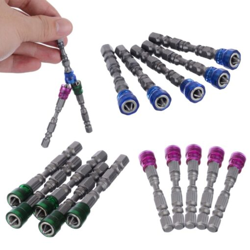 Single Head Magnetic Screwdriver, 5Pcs Single Head Magnetic Screwdriver