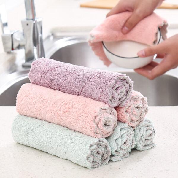 6pcs Magic Cleaning Cloth
