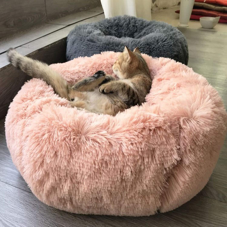 Super Soft Pet Bed Long Plush Dog Kennel