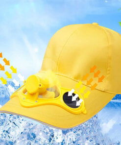 Cooling Fan Cap, Solar Powered Cooling Cap